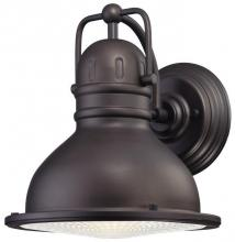 Westinghouse 6204600 - 1 Light LED Wall Lantern Oil Rubbed Bronze Finish with Clear Prismatic Lens