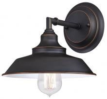 Westinghouse 6343500 - 1 Light Wall Oil Rubbed Bronze Finish with Highlights