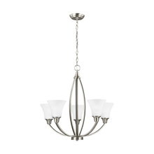 Sea Gull 3113205-962 - Five Light Chandelier
