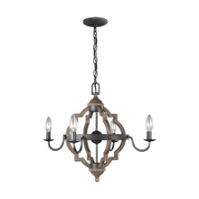 Sea Gull 3124904-846 - Four Light Chandelier