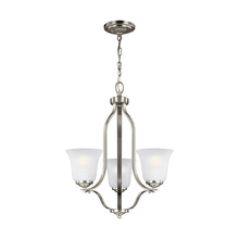 Sea Gull 3139003-962 - Three Light Chandelier