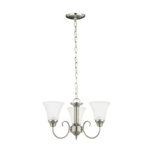 Sea Gull 31806-962 - Three Light Chandelier